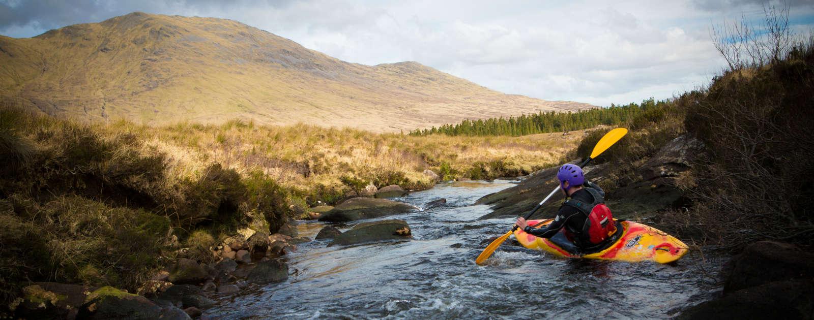 Kayaking Galway