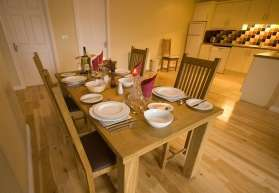 Aasleagh Cottage Dining Area