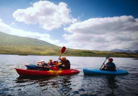 Family Holiday Kayaking