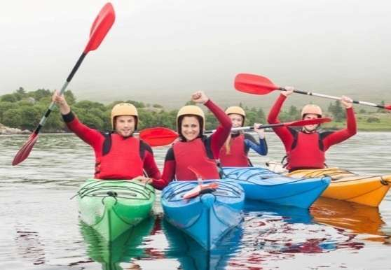 Kayaking Delphi Adventure Resort