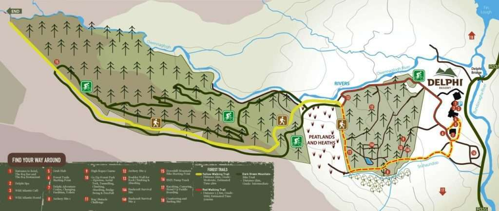 delphi resort map